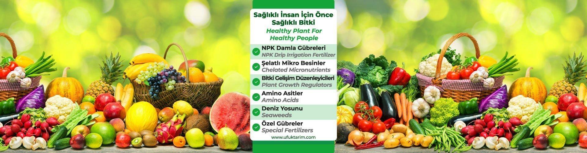 Sağlıklı İnsan İçin Önce Sağlıklı Bitki..